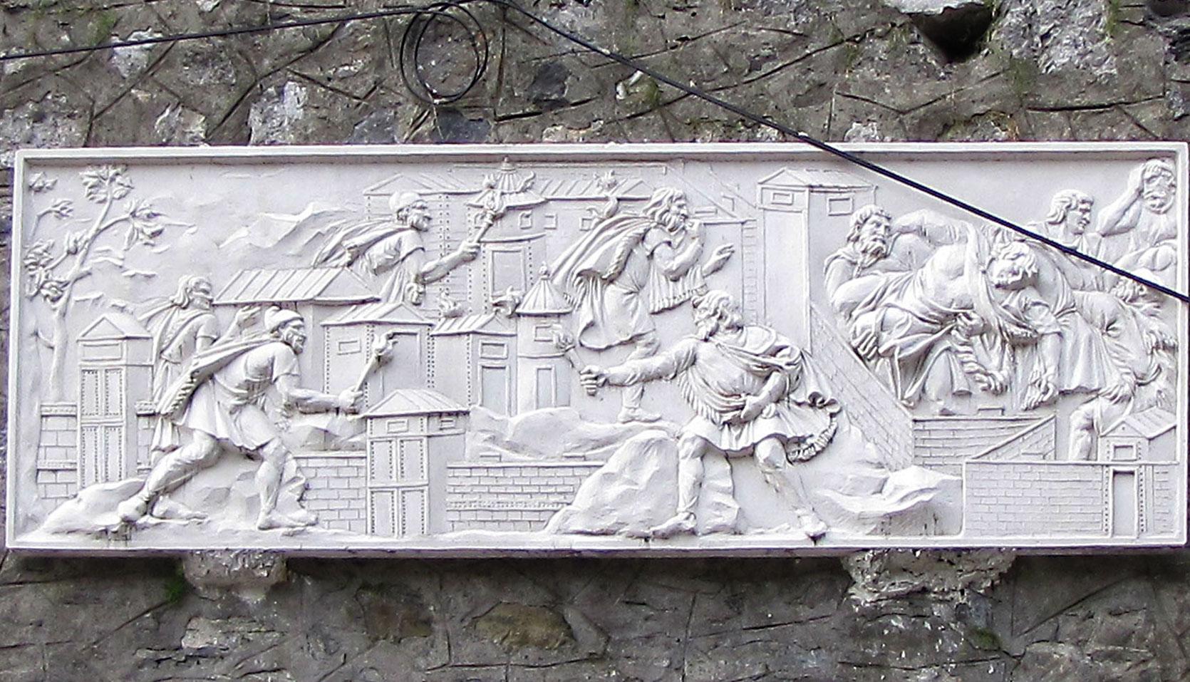 sculptura basorelief 2.5d