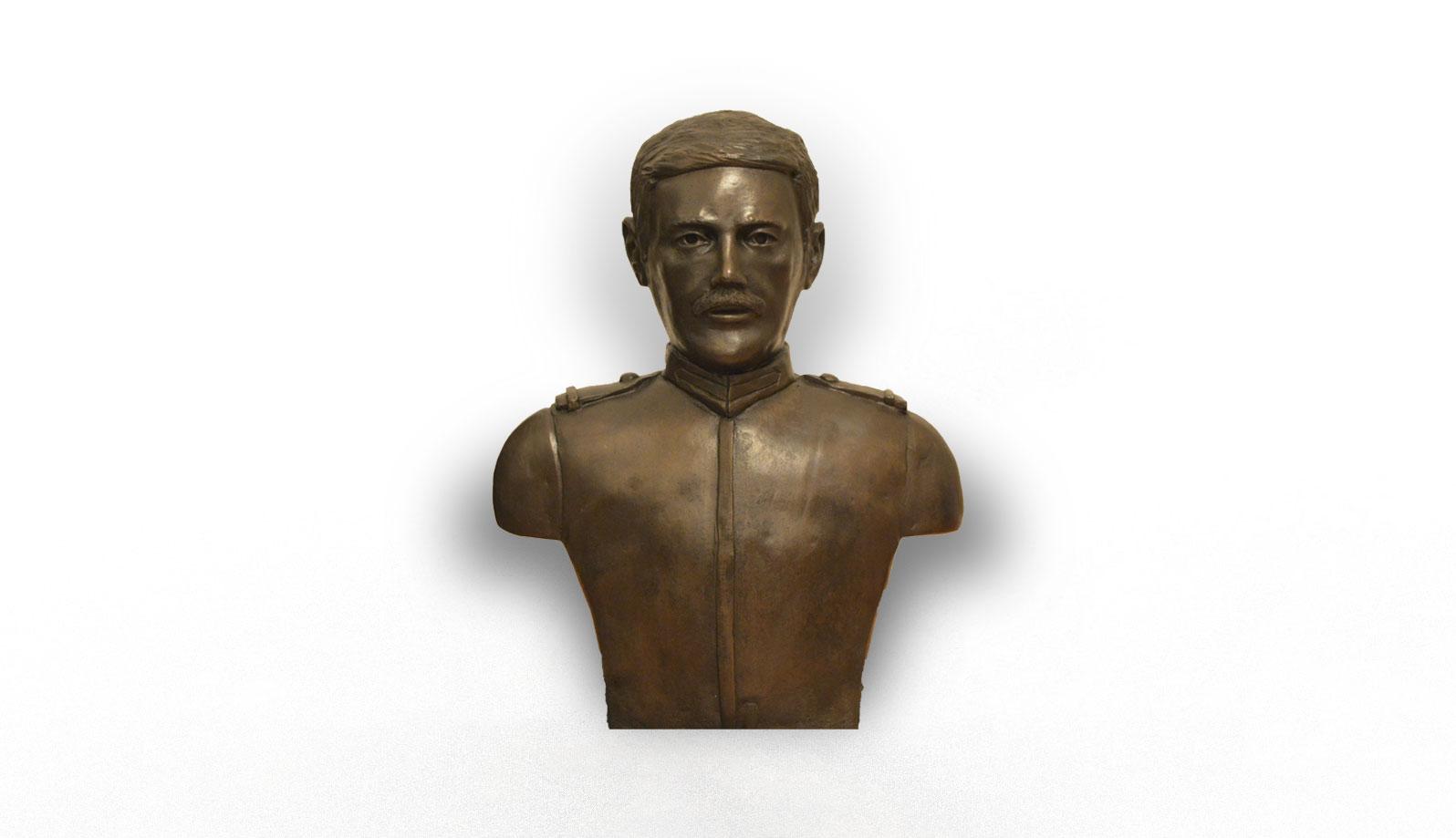 sculptura bust bronz